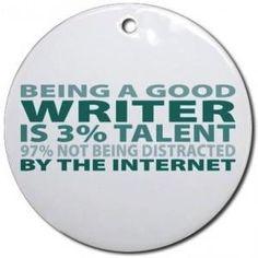 Being a good writer... #writer