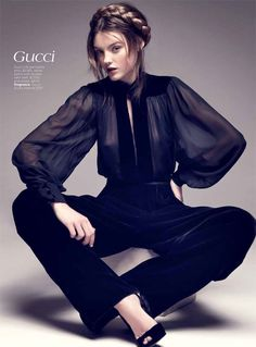Montana Cox, Fall Collections for Vogue Australia