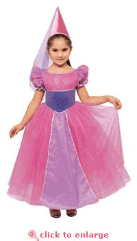 Glittered Princess Dress with Hat