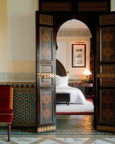 Love the Moroccan design
