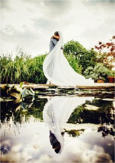Probably one of the best wedding photos I've seen.