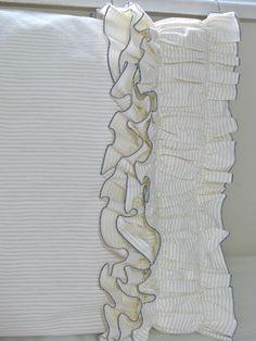 ruffled pillowcase tutorial
