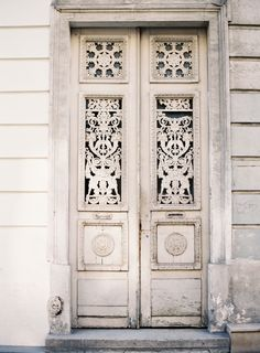 I love the textures and character of old doors, especially ones photographed by Rylee Hitchner! #roost