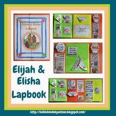 Elijah & Elisha Lapbook