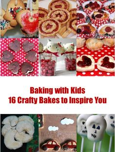 Our favourite bakes on Red Ted Art! My kids LOVE to get stuck in.