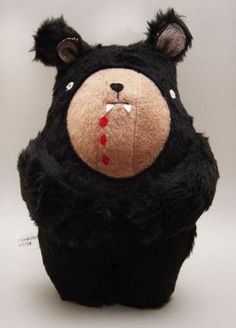 vampire bear by strawberrykitten