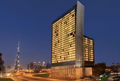 #OberoiHotel Downtown Dubai surrounded by world famous  tourist spots The Dubai Mall and Burj Khalifa  with spacious rooms,spa,pools,bar etc.