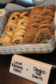 food display, marker, place cards, homemade cookies, tile, aprons, display cases, parti, cloth napkins