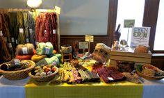 Winter Market craft table