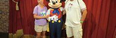 Talking Magician Mickey at Disney World's Magic Kingdom