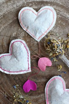 DIY Heart Shaped Tea Bags – HonestlyYUM