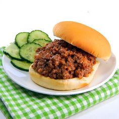 One Perfect Bite: Sloppy Joes - Middle School Culinary Throwdown