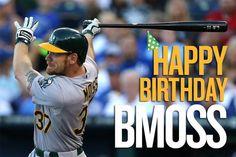 Happy Birthday Brandon Moss, born September 16.