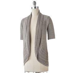 Cute inexpensive grey sweater. $29.99