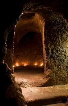 Gilmerton Cove, under the streets of Edinburgh