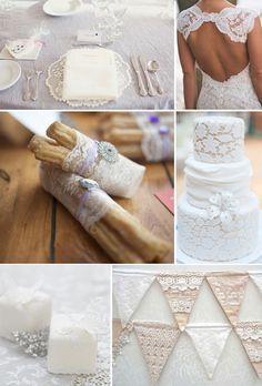 Lace Details Wedding