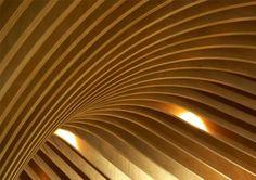finned ceiling.