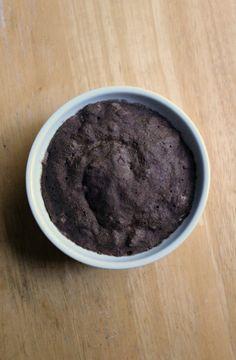 Chocolate Buckwheat Mug Cake  Strength and Sunshine #glutenfree #vegan #healthy