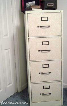 file cabinets redo, cabinet redo, guest room office