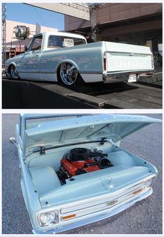 69 Chevy Truck bagged