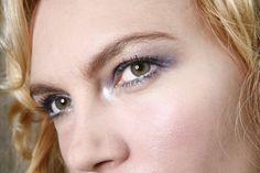 Alla in Conceit blush, TripleTake eyeshadow and Whiplash mascara by Whiplash Cosmetics