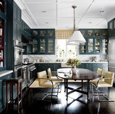 Contemporary Kitchen by J. Randall Powers via @Architectural Digest #designfile