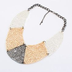 Connected Fun Statement Necklace from LilyFair Jewelry, only $19.99