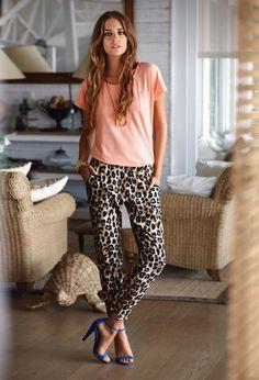 Slouchy leopard