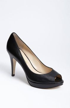 The perfect little black pump. By Enzo Angiolini.