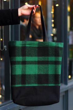 Wool Tote / Winter Bag / Wool Bag