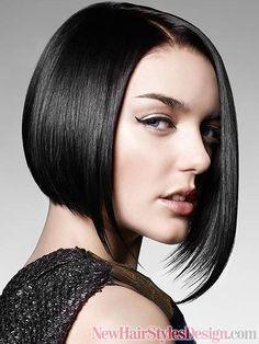 Stylish Asymmetric Bob Hairstyles 2012