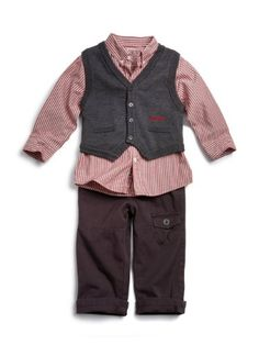 GUESS Kids Boys Toddler Shirt, Sweater Vest and « Clothing Impulse