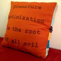 Keren's pillow!  <3