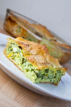 Kolokithopita (Greek Zucchini and Feta Pie)