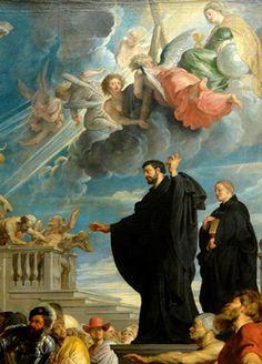 St. Francis Xavier artists, oil paintings, church, st francis, castles, franci xavier, cathol saint, china, island