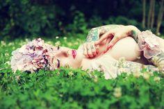 Gail Kilker's Boudoir Beauties – more images @ http://www.juxtapoz.com/Erotica/gail-kilkers-boudoir-beauties –#erotica #photography feather headpiec, alabama deer, texture, aspir art, erot art, headpieces, feathers, art ideasrefer, adorn art