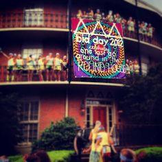 University of Alabama Bid Day - Delta Delta Delta