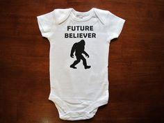 Future Believers Series Bodysuit - Bigfoot / One Piece Body Suit