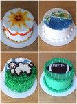 Cakes Decorated Using Pattern Transfers #FathersDay #cake #ideas #video #tutorial