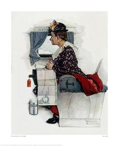 Norman Rockwell First Flight