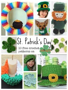 Celebrate the Luck of the Irish with 10 Free Crochet Patterns!