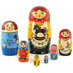"Traditional Matryoshka ""Rocking Horse""    FromRussia.com"