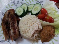 ZULFAZA LOVE COOKING: Resepi nasi ayam penyet dan sambal sedap