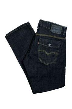 Levis Jeans 514 Slim Fit Straight Leg Flap Back Pocket Denim Mens Pants 29/30
