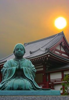 A Shinto Temple in Japan.