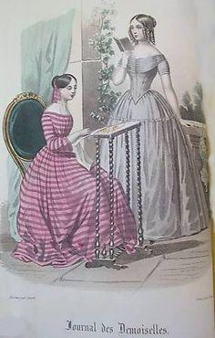 1846. day dresses, Journal des Demoiselles