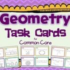 A set of 48 Common Core Aligned Geometry Task Cards!  Perfect for reviewing geometry skills, pre or post assessments, math workshop centers, etc.  ...