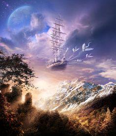 Take me to the ship of my dreams...osokin