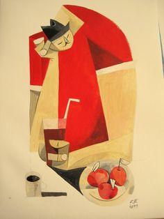 Esteban by Riccardo Guasco #illustrazione #disegno