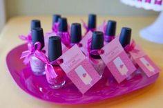 Nail polish party favors